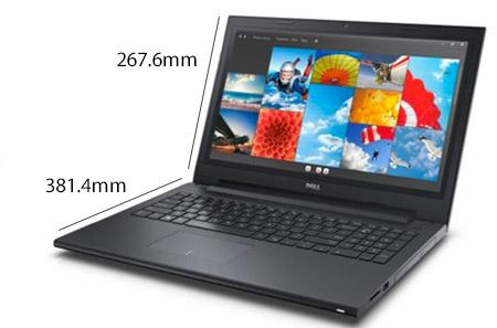 Dell 3543 với thiết kế mạnh mẽ đầy nam tính