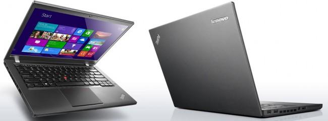 Laptop lenovo thinkpad T440s với thiết kế mỏng và rất nhỏ gọn