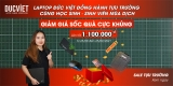 Sale tựu trường 2021 - Laptop Đức Việt đồng hành cùng Học sinh, Sinh viên mùa dịch