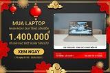 Khuyến mãi xuân Tân Sửu 2021 - Mua laptop tặng quà lên đến 1.400.000 vnđ